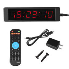 Horloge Murale à LED Prscise Minuterie Chronomètre pour L'entraînement Physique