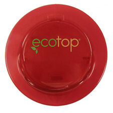 """EcoTop RED 3"""" in. Lid Top Cup Coffee Travel Mug Cover Eco-Friendly Leak Free"""
