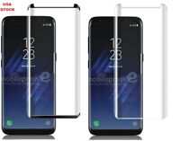 For Samsung Galaxy S9 plus 3D Curved edge Tempered Glass Screen Protector USA