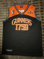 Guinness Irish Stout Beer 1759 Basketball Ireland Jersey XL mens