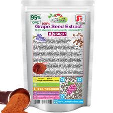250g (8.8 oz) 100% Grape Seed Powder Extract - 95% OPC
