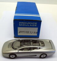 Provence Moulage 1/43 Scale built kit - XJ - Jaguar XJ 220 Silver