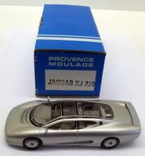 Provence Moulage 1/43 Scale built kit - XJ - Jaguar XJ 220 Silver
