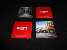 << 4 >> BEEFEATERS LONDON Coasters