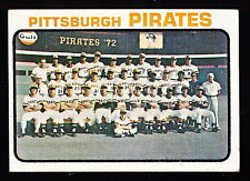 1973 TOPPS #26 PITTSBURGH PIRATES TEAM CARD W/ROBERTO CLEMENTE & WILLIE STARGELL