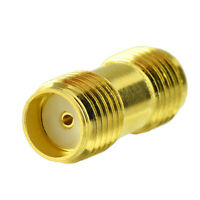 SMA Female to SMA Female Coaxial Connector Adapter for Antenna Pigtail Cable