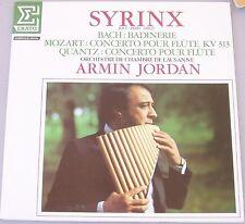 SYRINX + Orchestre de Chambre de Lausanne   Bach: Badinerie, Mozart: conc