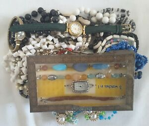 DIY Unsearched Unsorted Untested Bulk Craft Jewelry Lot 1.8 Pounds Lot A