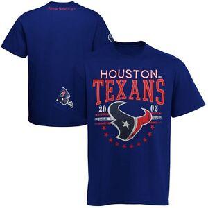 Houston Texans NFL Mens G-III Big Time Football Shirt Blue Big Sizes