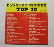 VARIOUS Country Music's Top 20 LP Columbia Rec P15109 US 1979 M SEALED 6G