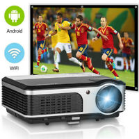 Projektor HD LED Android HeimKino Film Video Proyector HDMI 1080p WiFi Xbox USB