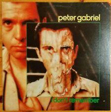 PETER GABRIEL I Don't Remember / Shosholoza / Biko / Jetzt Kommt Die Flut 1980