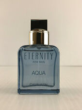 ETERNITY AQUA By Calvin Klein For Men COLOGNE SPRAY 1.0 OZ / 30 ML NEW UNBOX