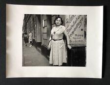 Lutz Dille, Rue Blondel, 1951, Paris, Photographie, 1951, handsigniert