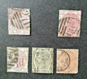 GB Surface Printed collection 1873-80 sound used.