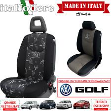 COPPIA COPRISEDILI Specifici Volkswagen GOLF Foderine ANTERIORI GOLF Grigio 33