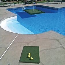 Floating Golf Green 3'x4' for Pools Ponds Lakes Putting Chipping Practice