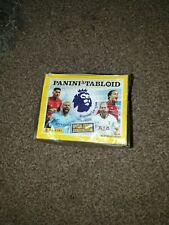 Panini Tabloid Premier League Stickers full box of 50 packets rrp £35