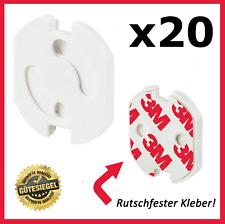 20x Steckdosen Sicherung Kinderschutz Kindersicherung Schuko Steckdosenschutz