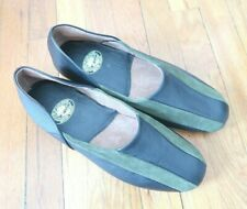 Draper Of Glastonbury Mens Slippers Suede Leather 11 Driving Moccasin Shoe NWOT