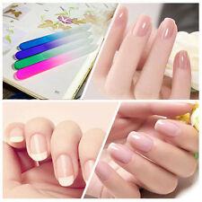 WDS Vivid Style Crystal Glass Nail File Nail Polish Nail Care Manicure Tools New