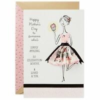 Hallmark Signature Mother's Day Card: Vintage-Style Handkerchief