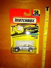 Matchbox 1:64 Super Fast Action System Corvette T Top #58 Silver