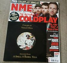 "Coldplay 7"" Violet Hill came with NME Magazine 2008"