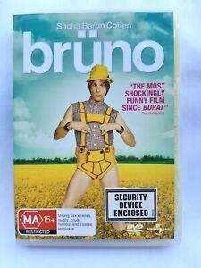 bruno - 2009 Comedy - Sasha Baron Cohen  Gustaf Hammarsten - R4 - Dvd