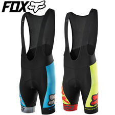 Fox Ascent Pro Bib Shorts for Cycling 2016 - S M L XL - Red, Blue