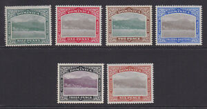 Dominica. 1903-07. SG 27-32, 1/2d to 6d. Fine mounted mint.