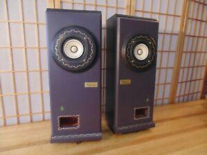 FIBHORN Model 8 NEW! Audiophile speaker w FOSTEX driver