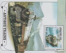 Afghanistan block100 unmounted mint / never hinged 1998 Old Steam locomotives