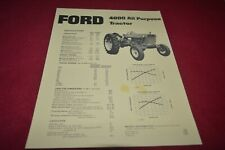Ford 4000 Tractor Dealer's Brochure AMIL15