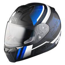 iXS HX 215 Pixel schwarz blau matt Gr. XL Motorradhelm Sport Roller