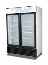 Migali C-49RM-HC Two Door Refrigerator Glass Door Merchandiser