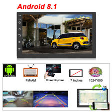 """Android 8.1 7"""" 2 din Car Stereo Radio FM MP3 MP5 Player w/ GPS/Bluetooth/WiFi"""