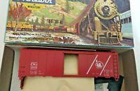 HO scale Bev-Bel Athearn Central New Jersey 40' boxcar CNJ 23252 kit vintage