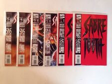 Sabre Tooth 1-4 Complete Near Mint Lot Set Run