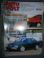 Alfa Romeo 156 essence 1.8 et 2.0 Twin Spark : Revue technique Autovolt 766