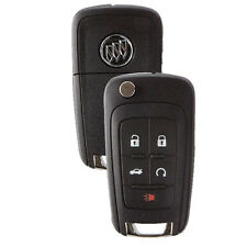 New Flip Key Remote Start Key Fob for Buick Lacrosse Encore Regal Verano Allure