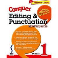 Conquer Editing & Punctuation for Primary YEAR 1