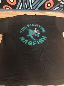 Vintage Hagfish T-shirt size XL Rise Against