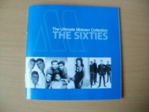 MOTOWN - The 60's  Ultimate  Collection !!   - 3 CD Set -     Readers Digest