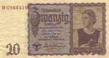 INGLOURIOUS BASTERDS PRODUCTION USED PROP GERMAN MONEY COA