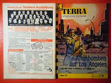 "Terra Utopische Romane,Heft Nr. 275,""Atombomben auf Los Angeles"" sehr gut ( 1-)"