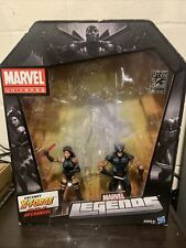 Marvel Legends Hasbro SDCC 2012 Uncanny X-Force Wolverine Psylocke Autographed!