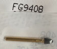 Tampf 10 Burs 9408 Egg Shape Fine Polishing 30 Blade Goldcarbides Made In Canada