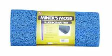 """Se Gp-Mt415-3Bl 12� x 36� Blue Miner's Moss (Sluice Box Matting) 12"""" x 36"""""""