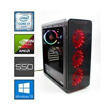 CRYSTALIX COMPUTER ASSEMBLATO GAMING I7 RAM 16GB SSD 240GB HDD 3TB LIQUIDO RGB-